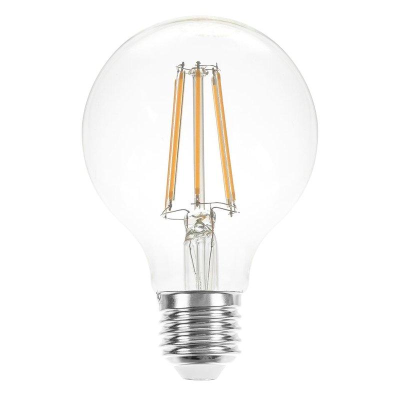 led filament globe g80 8w 60w e27 klar warmwei 2700k. Black Bedroom Furniture Sets. Home Design Ideas