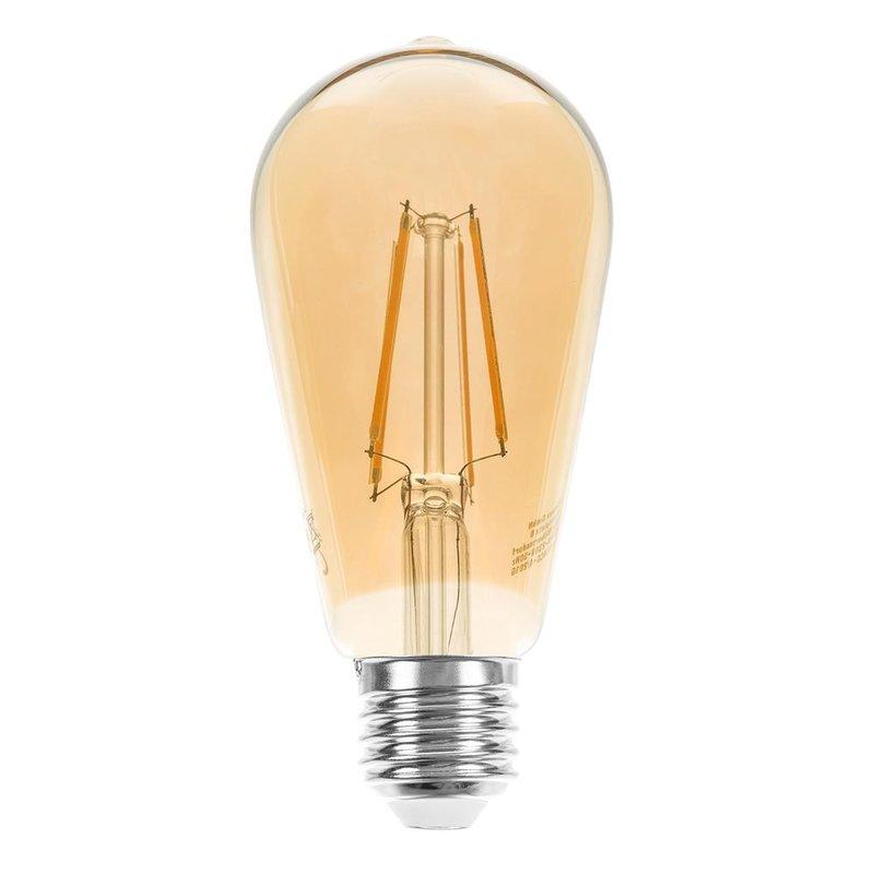 led rustika filament edison gl hbirne 4w e27 gold 2200k. Black Bedroom Furniture Sets. Home Design Ideas