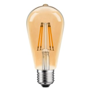 LED Filament Edison ST64 4W = 25W 360lm E27 gold...