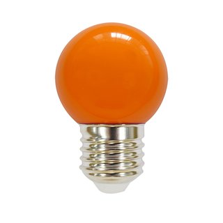 LED-Lampe in Tropfenform Kunststoff 2W orange