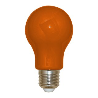 LED-Lampe in Glühlampenform Kunststoff 3W orange 240lm