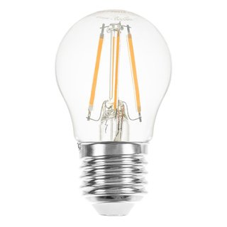 LED Filament Tropfen 4W = 40W E27 klar warmweiß 2700K