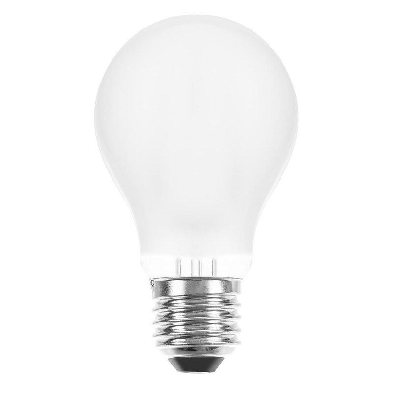 led filament leuchtmittel 6w e27 matt warmwei 2700k. Black Bedroom Furniture Sets. Home Design Ideas