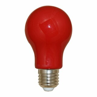 LED-Lampe in Glühlampenform 3W rot 240lm